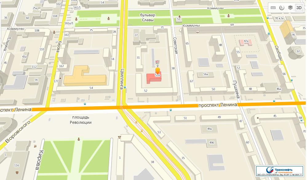 Карта Челябинска: улицы, дома и организации города